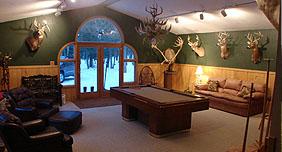 Drettmann Ranch The Lodge Billards Room